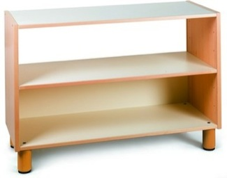 Open Two-Tier Shelf Furniture Shelves