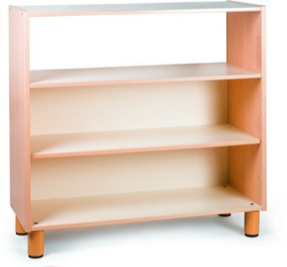 Open Three-Tier Shelf Furniture Shelves