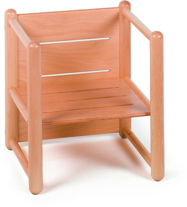 Reversible Small Chair Furniture Wooden Chairs
