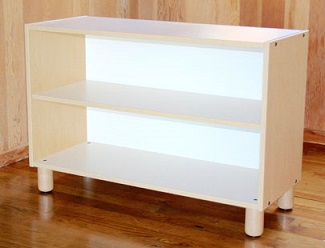 Two-Tier Shelf Furniture Shelves